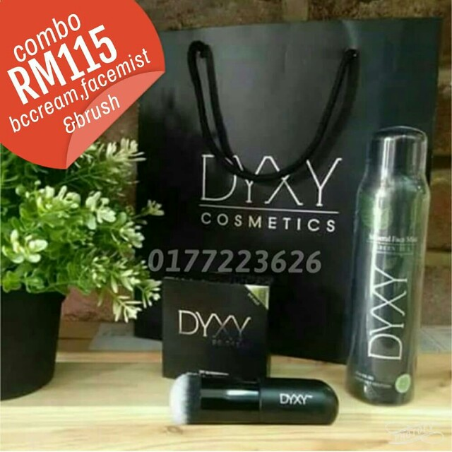 🔥OFFER COMBO🔥Dyxy cosmetic bc cream,facemist & brush