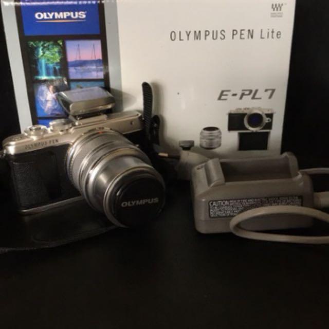 Olympus mirrorless PEN Lite E-PL 7