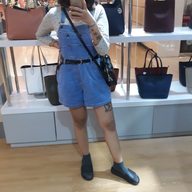 Overall / jumpsuit jeans (short)