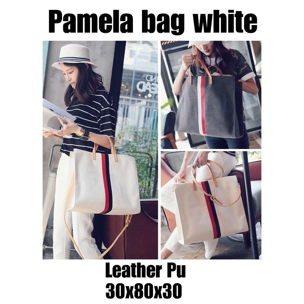 Pamela bag white