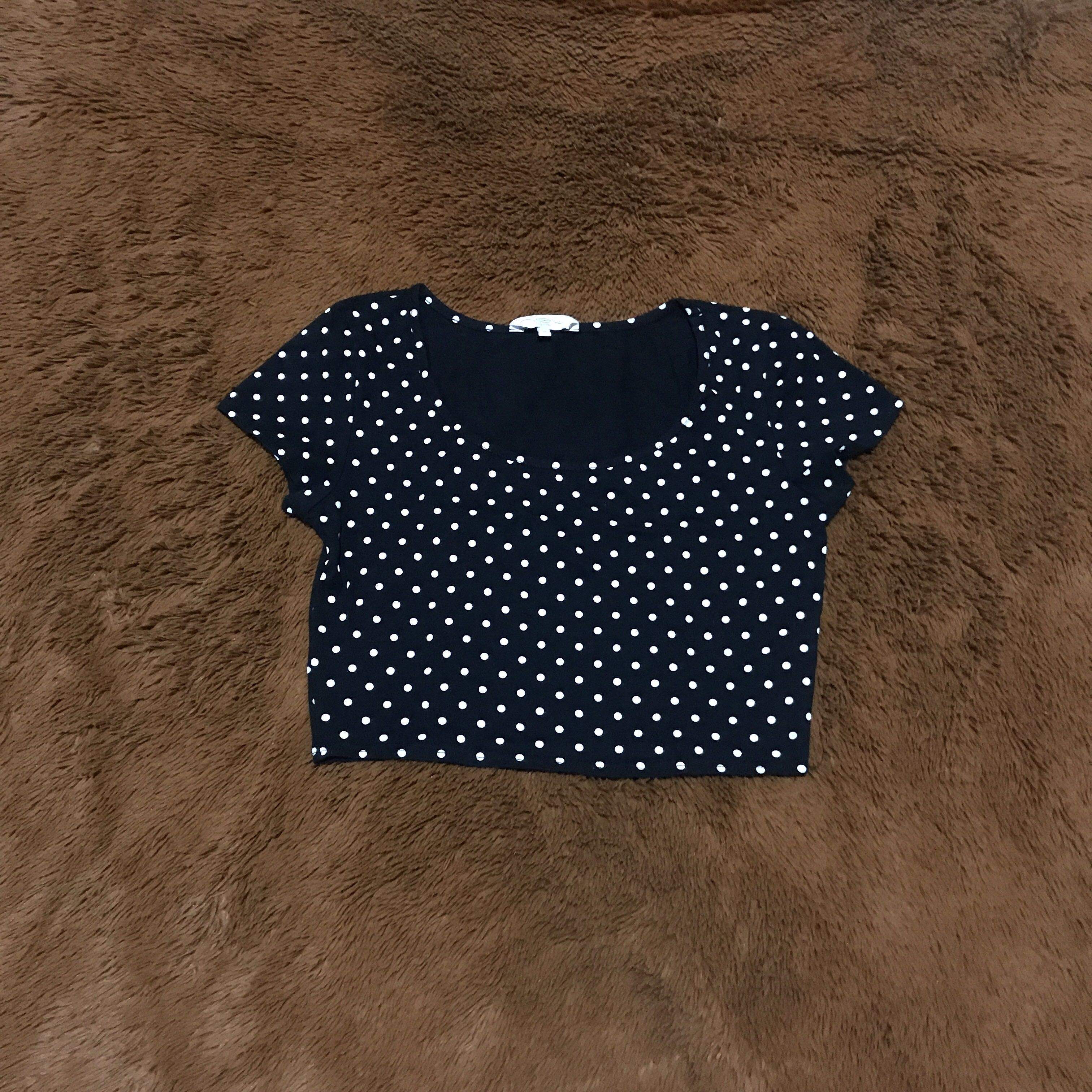 Polkadot Crop Top by New Look
