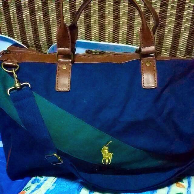 b9bb129a8b91f Polo Ralph Lauren Blue Sport Travel Bag
