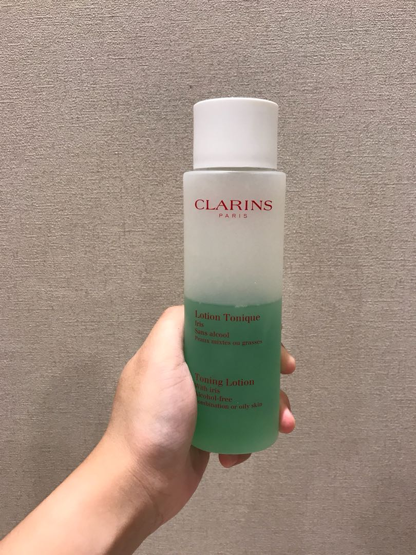 Preloved clarins toner full size