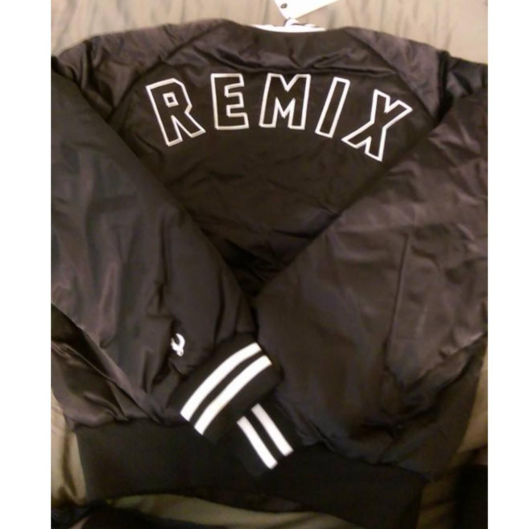 remix 棒球外套