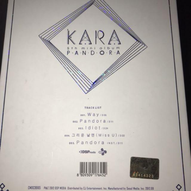 REPRICE !! PRELOVED ALBUM KARA