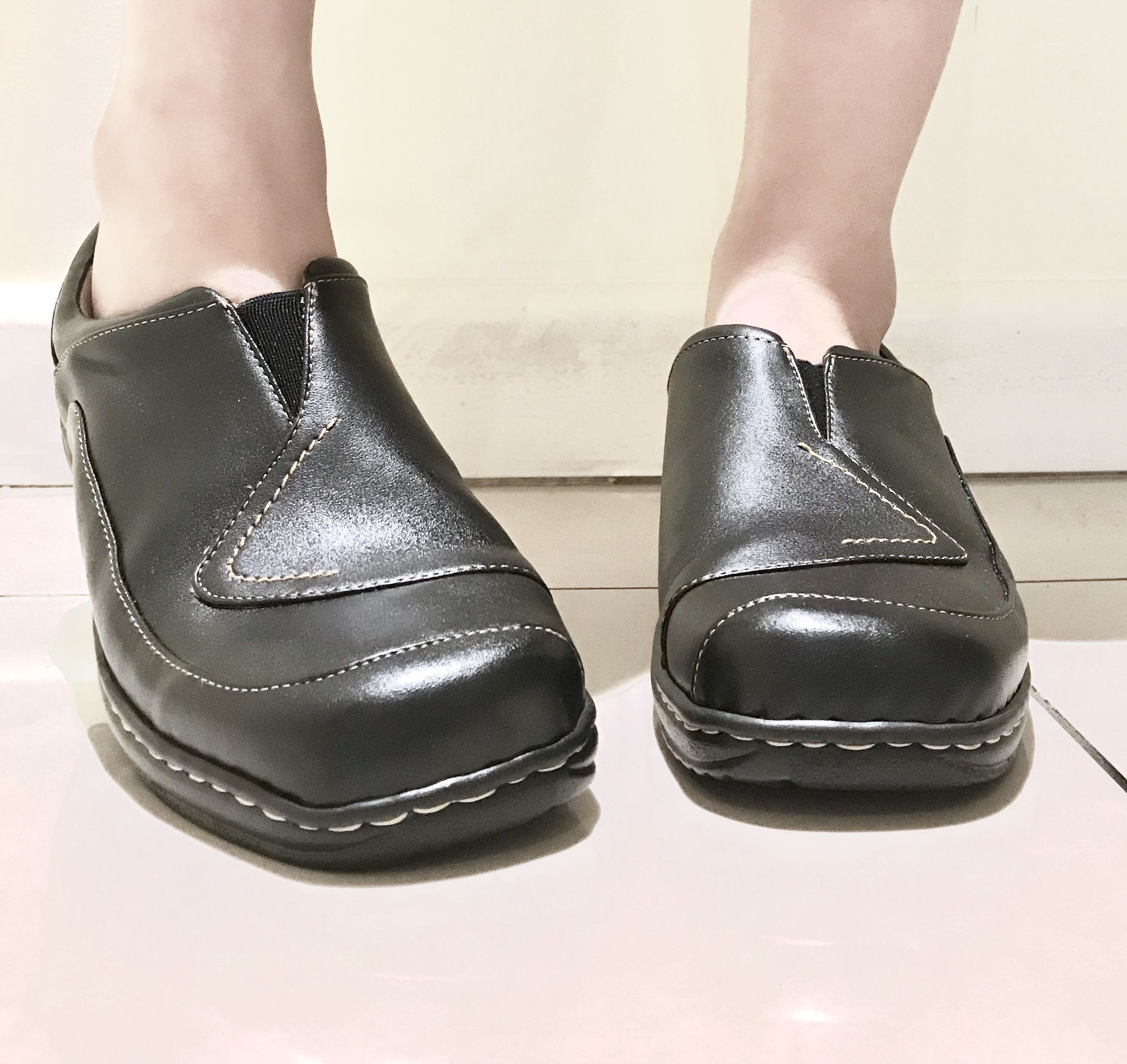 RIVERS BLACK LOAFERS