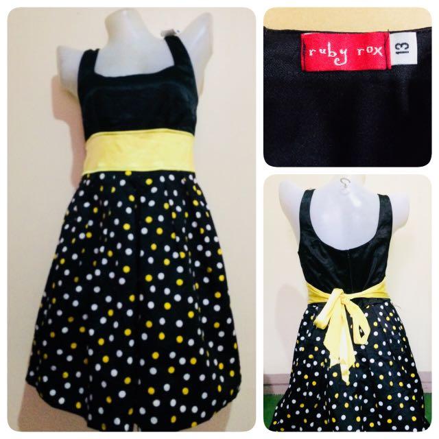 Ruby Rox Polka Dress