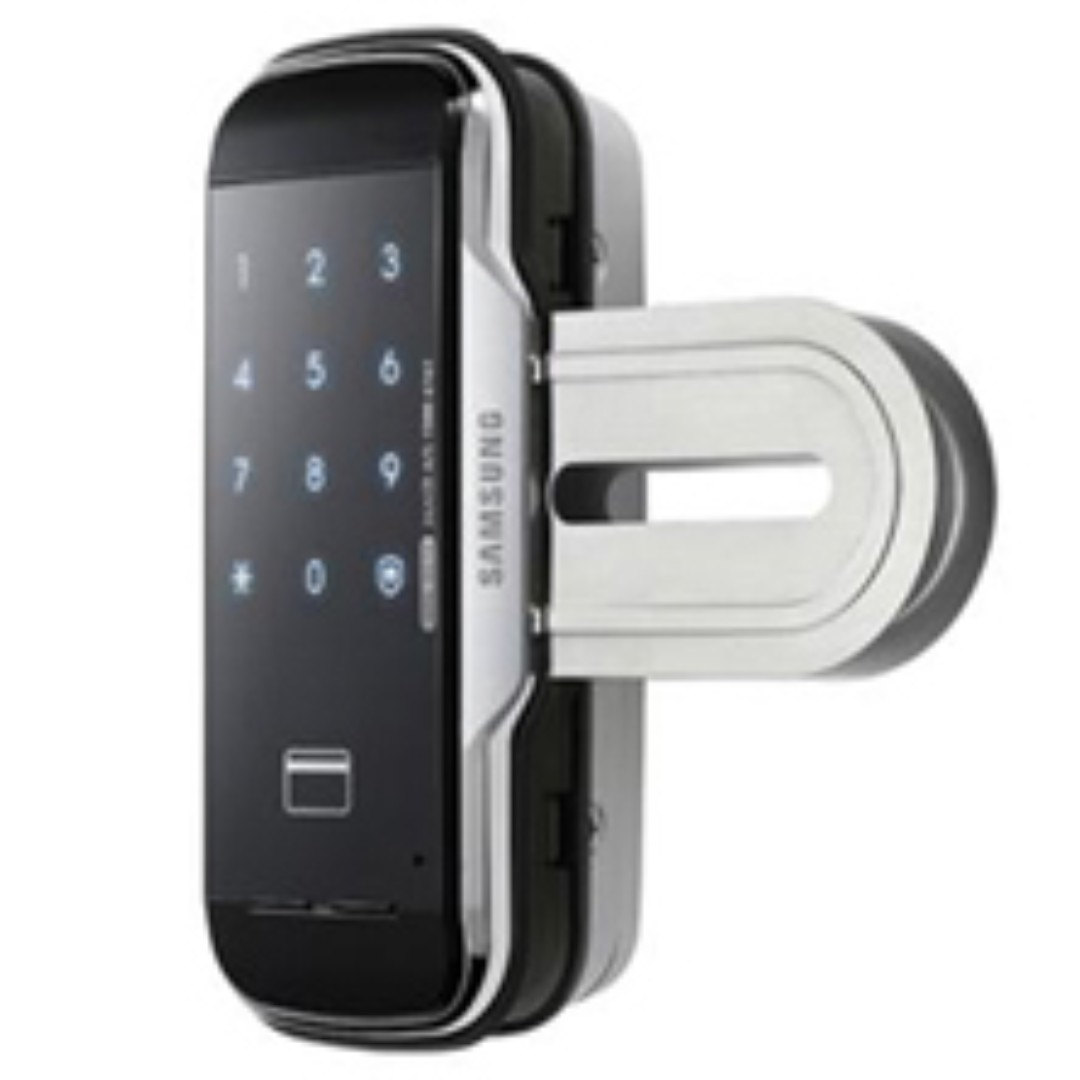 Samsung Glass Door Digital Lock Set Electronics Others On Carousell