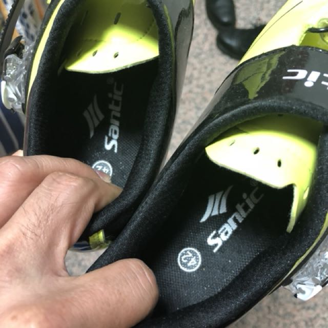 santic cycling cleat shoes