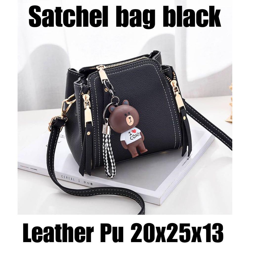 Satchel Bag Black