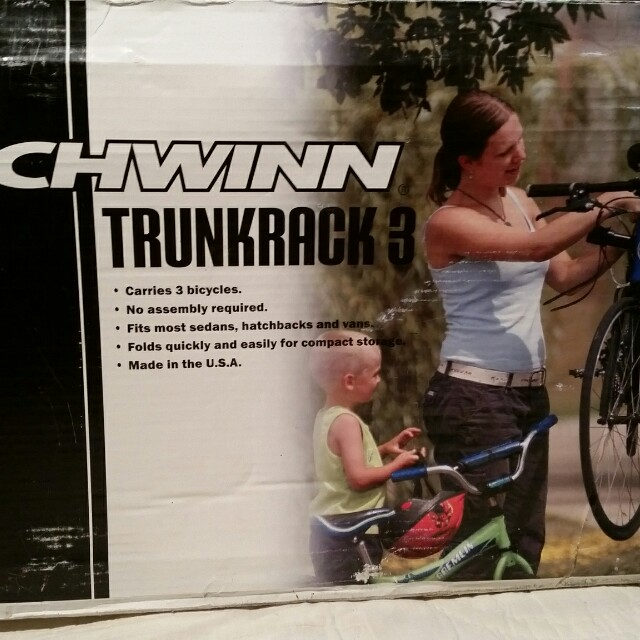 "SCHWINN ""TRUNK RAK3"" BIKE RACK"