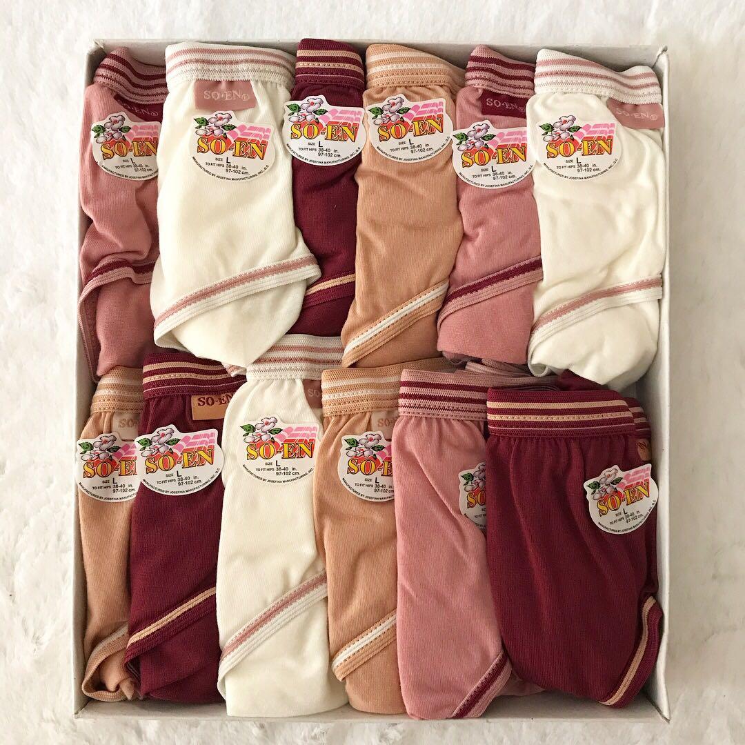 So-en Plain Panties (Large)