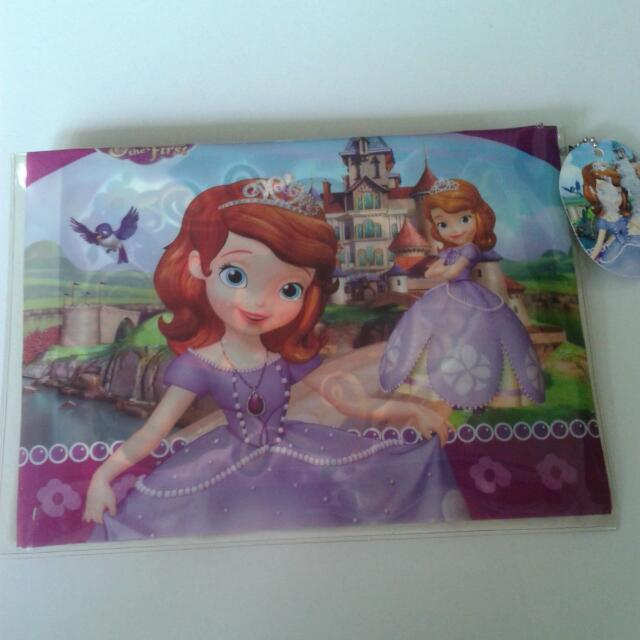 Sofia The First Pencil.case With Stationery