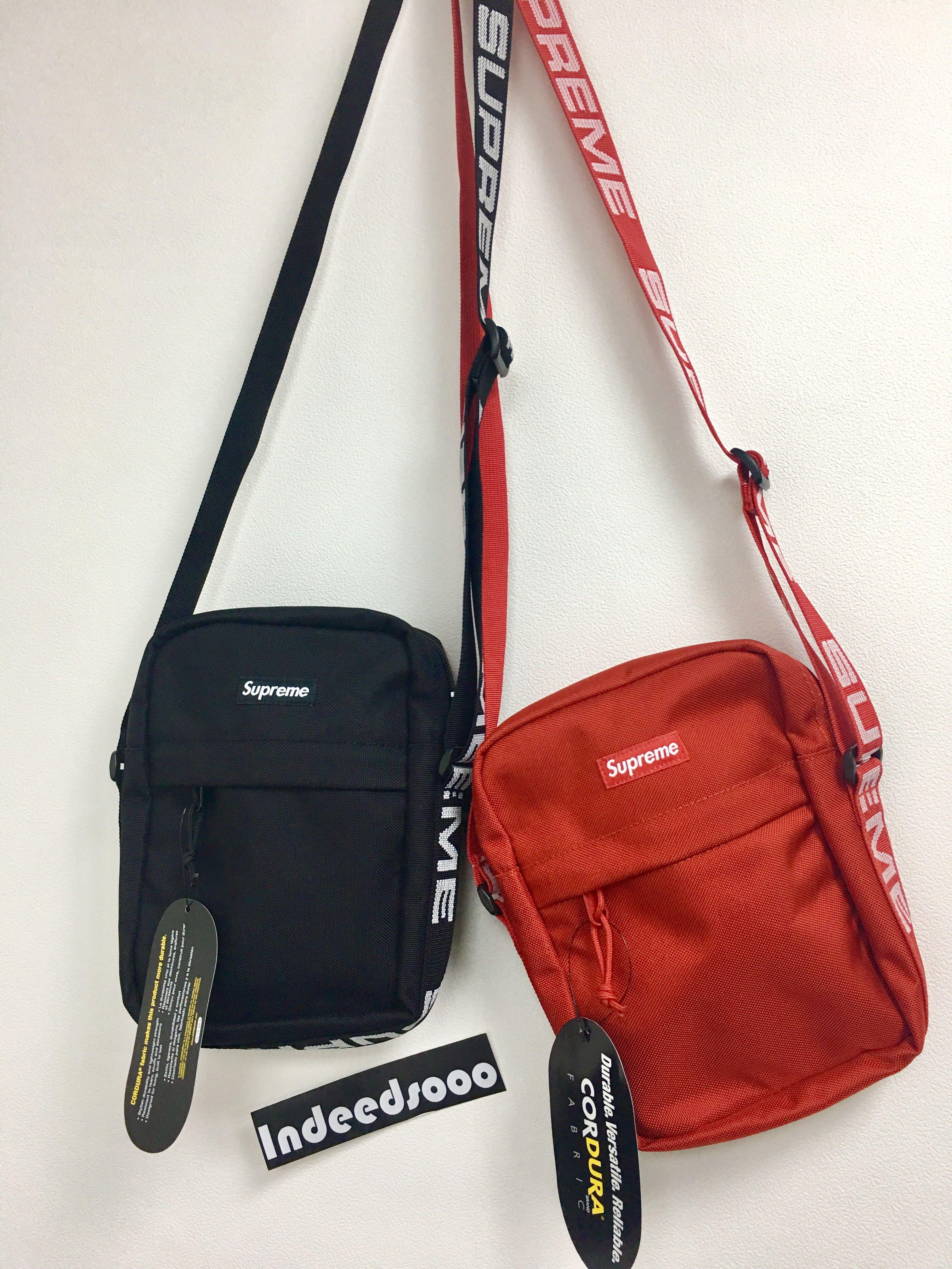Supreme Ss18 Shoulder Bag Dimensions