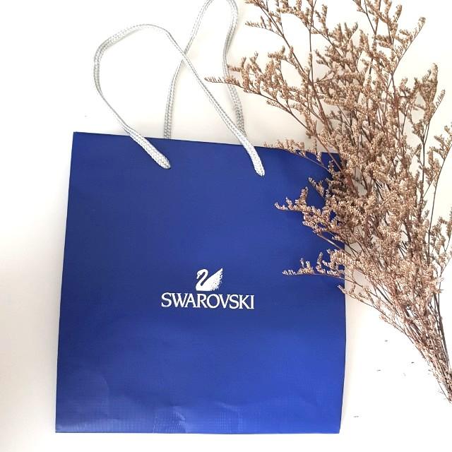 Swarovski paper bag