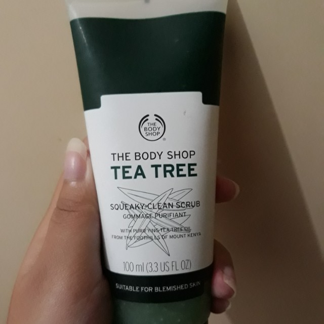 TBS Tea Tree : Squeky Clean Scrub