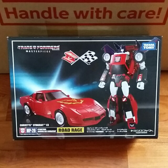 Transformers Masterpiece Road Rage MP-26