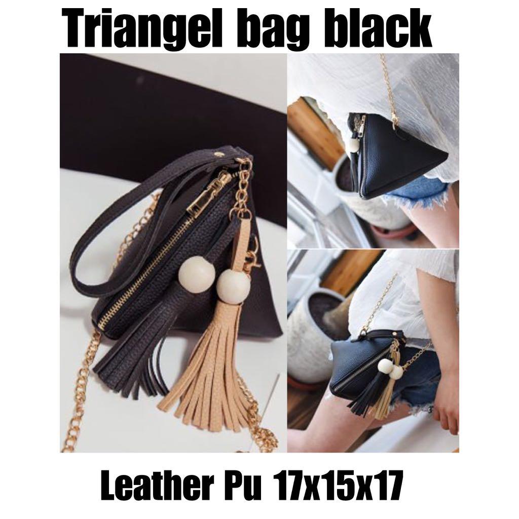 TriAngel bag Black