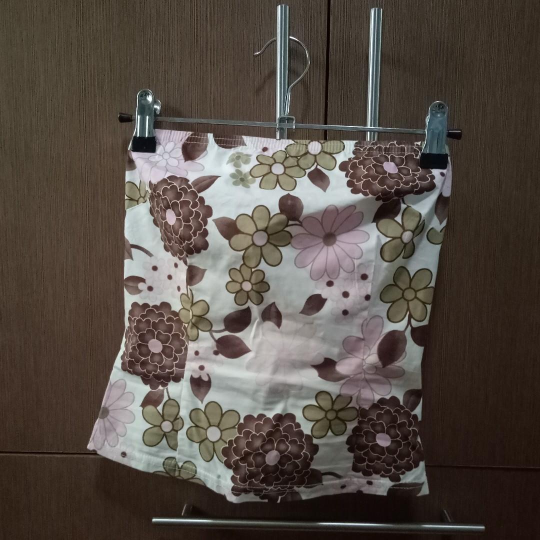 Tube Top and Skirt Set