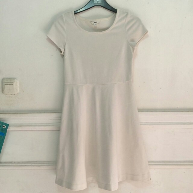 Uniqlo White Dress