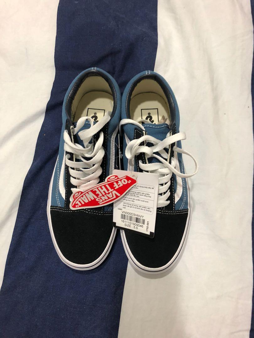 Van's Old Skool Black And Blue