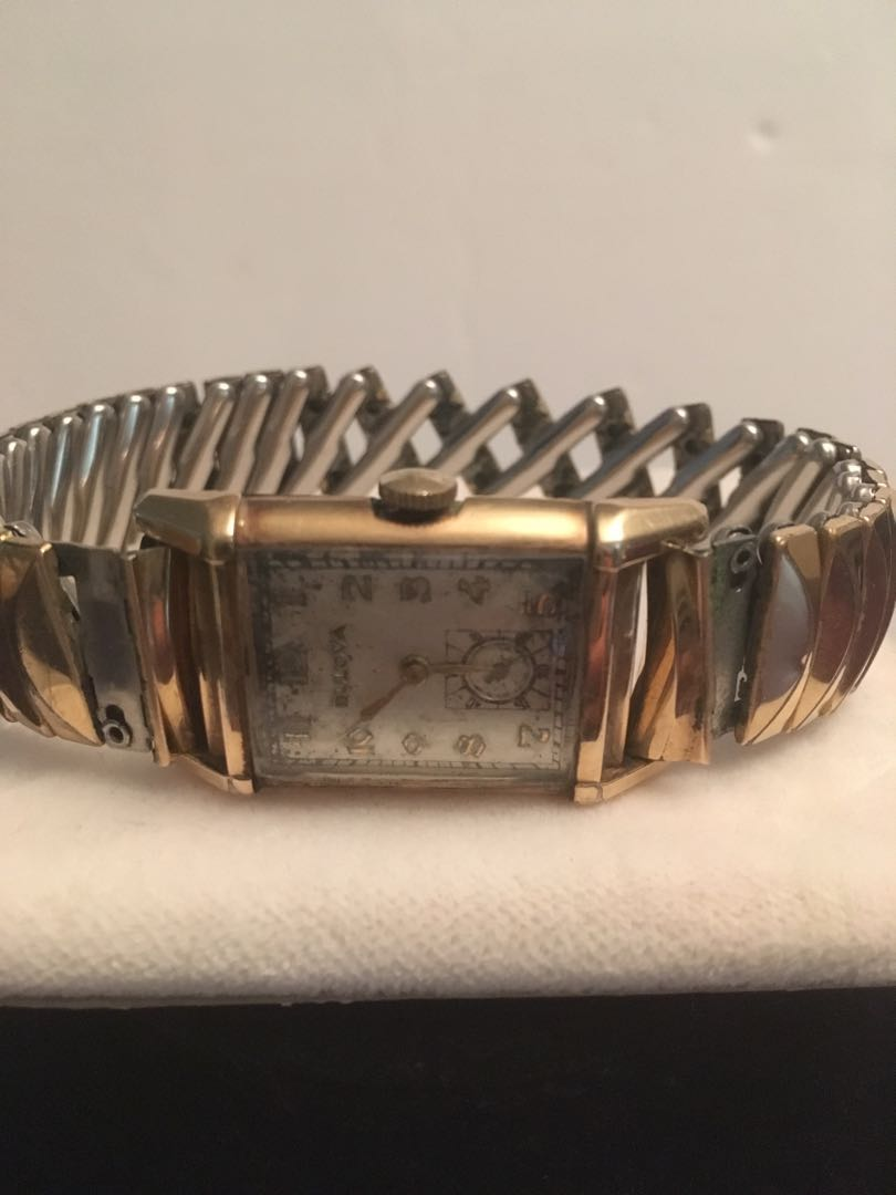 Vintage Bulova 10k gold filled watch authentic