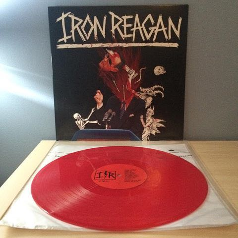 "VINYL - Iron Reagan ""The Tyranny Of Will"" (2014 limited edition)"