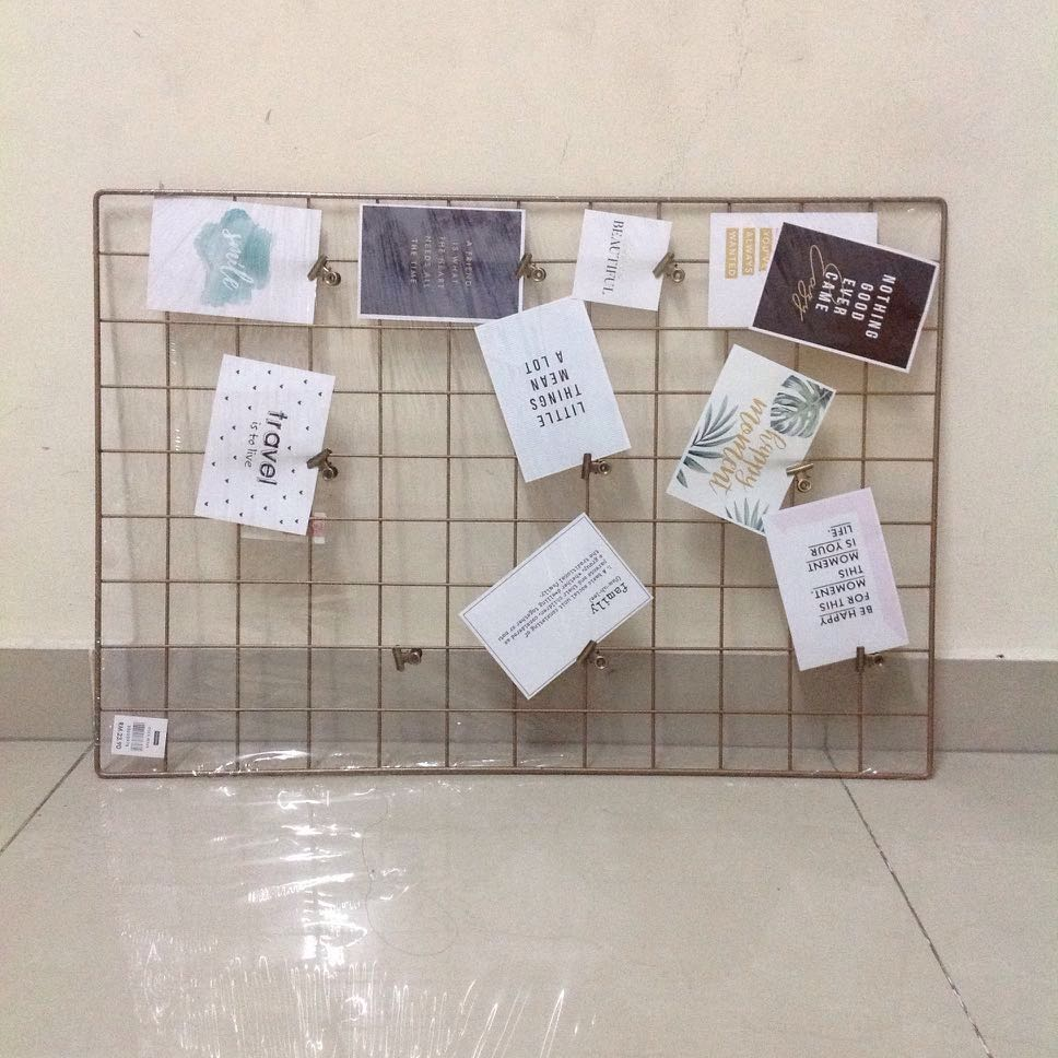 Wire Wall Grid Home Furniture Decor On Carousell