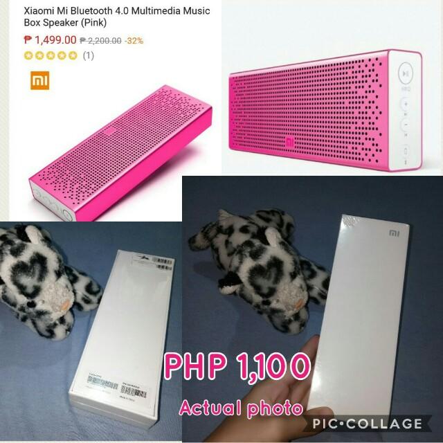 Xiomi Mi Bluetooth 4.0 Multimedia Music Box Speaker