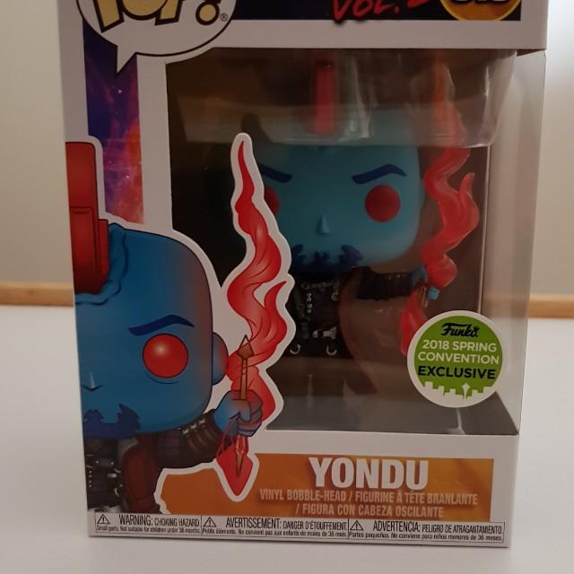 Yondu 2018 Spring Convention Pop Vinyl