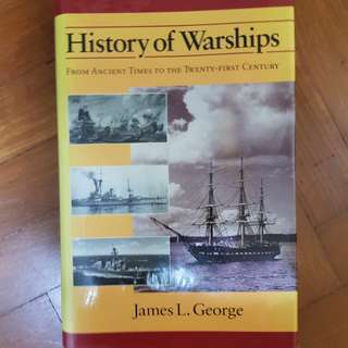 History of warships (history military warfare book)