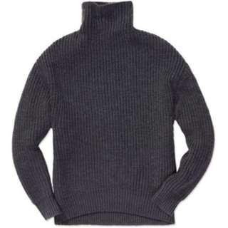 Aritzia Babaton wool turtleneck sweater