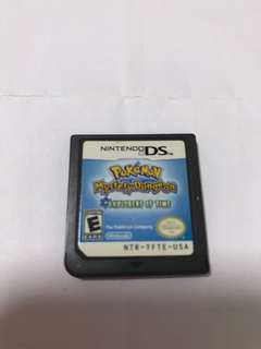 Nds game card Pokémon mystery dungeon