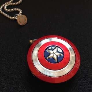 Captain America Dual USB x Necklace
