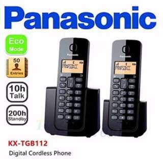 Panasonic Cordless Phone KXTGB 112