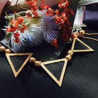 🚚 超美三角形項鍊