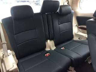 Alphard and other Japanese MPV seat upholstery