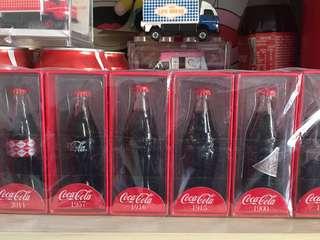(平放)全新限量版迷你可口可樂6支裝歷代紀念瓶