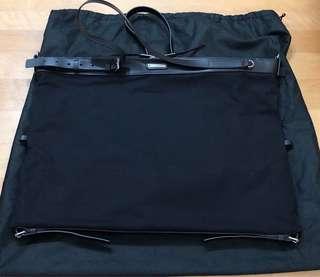 YSL Saint Laurent Medium ID bag in black canvas