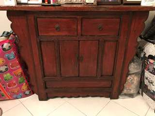 Antique Cabinet - Oriental