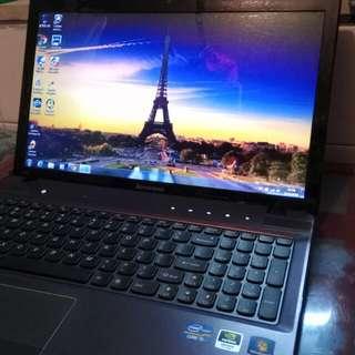 紫色Lenovo ideapad i5 換機 大平賣