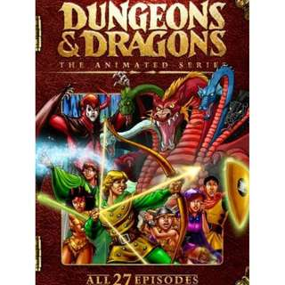 DUNGEONS & DRAGONS COMPLETE SERIES (1983)