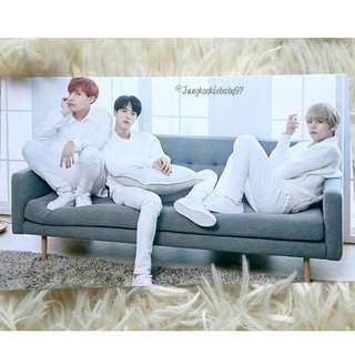 [WTS]  MEDIHEAL X BTS UNIT PHOTOCARD (JHOPE ,JIN AND V) NO.3