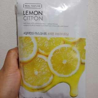 The Face Shop Lemon Citron Mask