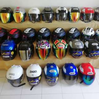 Shoei arai copy
