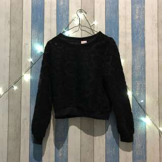 Camomille Sweater Crop Tee