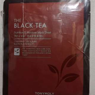 TonyMoly The Black Tea Mask
