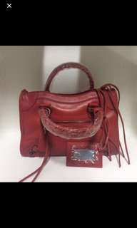Full leather Lambskin bag - clearing