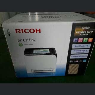 RICOH SP C250DN Color Desktop Laser Printer (with Wi-Fi connectivity)