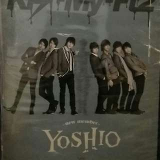 Kis-My-Ft2 YOSHIO DVD + CD